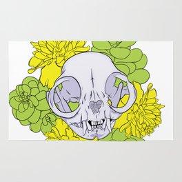 Persian Kitty Skull Rug