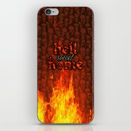 Hell Sweet Home iPhone Skin