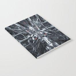 Maiden In The Machine Notebook