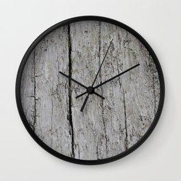 Wood Texture Wall Clock
