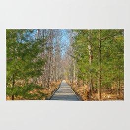 Jesup Boardwalk Trail Rug