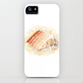 Ombre Cake Slice iPhone Case