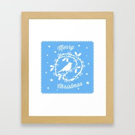 Merry Christmas Collection Framed Art Print