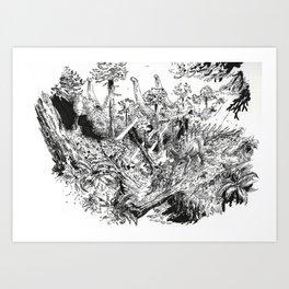 Tendaguru Art Print