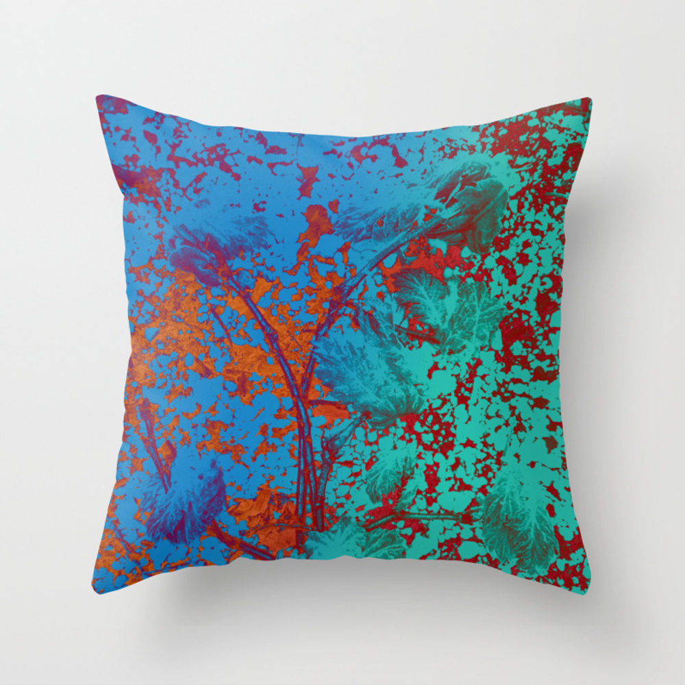 Vibrant Matters Throw Pillow by Velvetwater PLW8979504