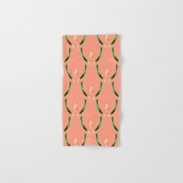 Heliconia Blossom Coral  #tropical Hand & Bath Towel