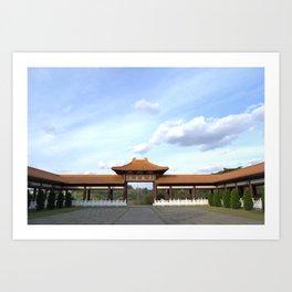 Templo Art Print