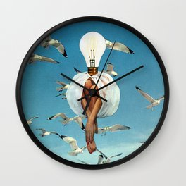 Fleeting Déjà Vu Wall Clock
