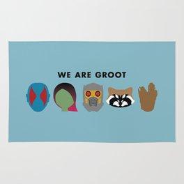 We Are Groot Rug