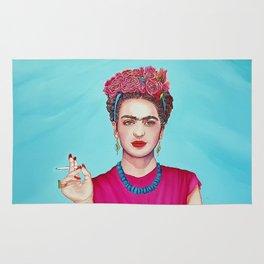 Frida Kahlo Defiant Rug