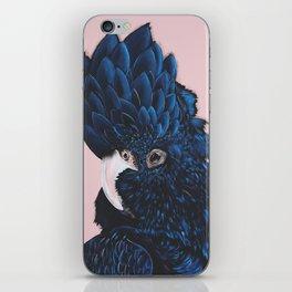 ALVA The Black Cockatoo iPhone Skin