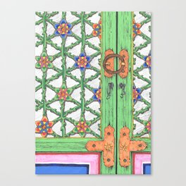 Temple Haeinsa door Canvas Print
