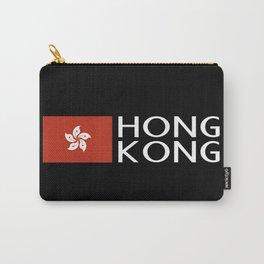 China: Hong Kongese Flag & Hong Kong Carry-All Pouch