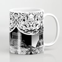 buildings Mugs featuring Buildings by Spew Jersey