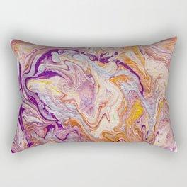 Molten gold Rectangular Pillow