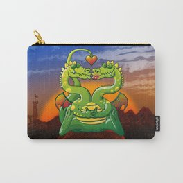 Dragons Madly in Love Carry-All Pouch