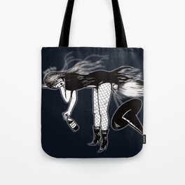 Witch Taxi Tote Bag