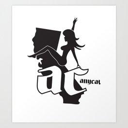 Anycal Ride Art Print