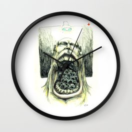 PLAGIATOR Wall Clock