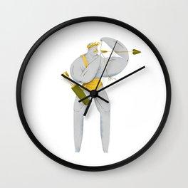 El Bow Wall Clock