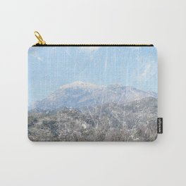 Snow-capped Mountains Carry-All Pouch
