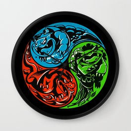 POKéMON STARTER: THREE ELEMENTS Wall Clock