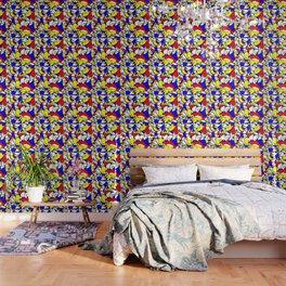 Mondrian Sneeze Wallpaper