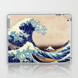 Katsushika Hokusai The Great Wave Off Kanagawa Laptop & iPad Skin