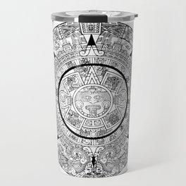 Aztec Calendar Travel Mug