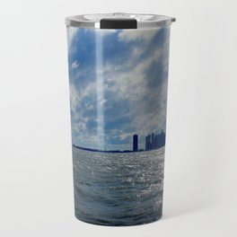 When Sandy Made Waves in Chicago #4 (Chicago Waves Collection) Travel Mug
