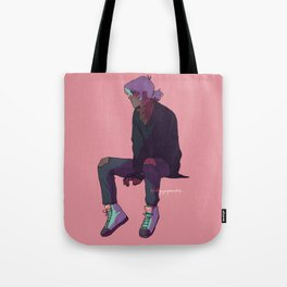 white haired Keef Tote Bag