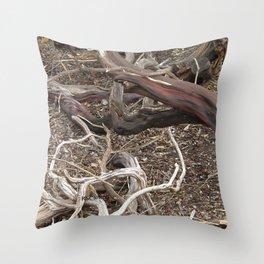 TEXTURES - Manzanita in Drought Conditions #3 Throw Pillow