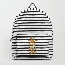 Pineapple & Stripes Backpack