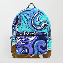 Beach Swirl Backpack