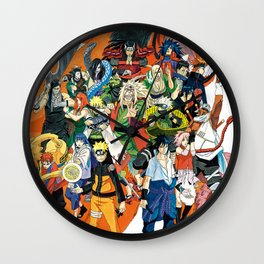 Naruto shippuden Wall Clock