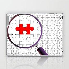 Odd Piece Magnifying Glass Laptop & iPad Skin