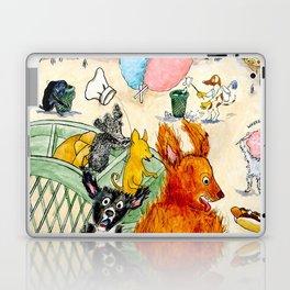 The Dogs Take Over Coney Island Laptop & iPad Skin