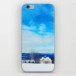 Vermont Winter iPhone Skin
