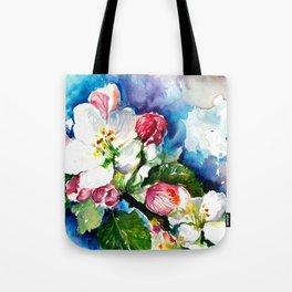 Sakura - Tree Blossom Watercolor Tote Bag
