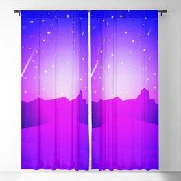 Purple Night Blackout Curtain