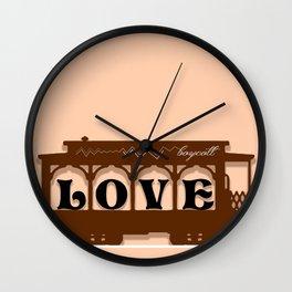 Boycott Wall Clock