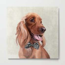Mr. English Cocker Spaniel Metal Print