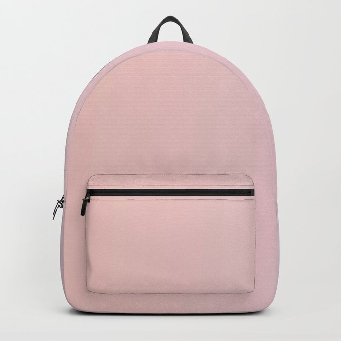Coral Pink Peach Sunset Gradient Backpack