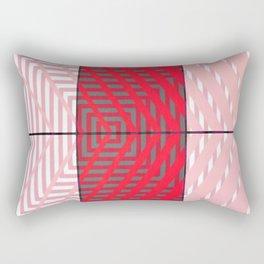 August - arrow graphic Rectangular Pillow