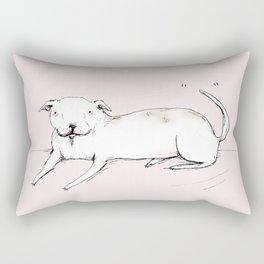 American Bulldog Rectangular Pillow