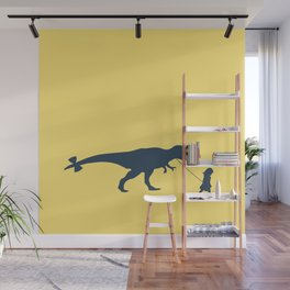 Walking my beast Wall Mural