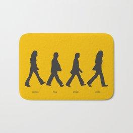 Abbey Road - Yellow Bath Mat