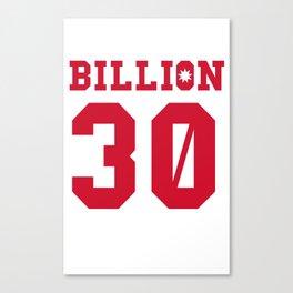 30Billion - Sport Edition 01 Canvas Print