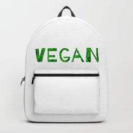 Vegan Quote Backpack
