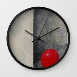The Last Red Balloon Wall Clock